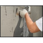 Ремонт трещин в стене