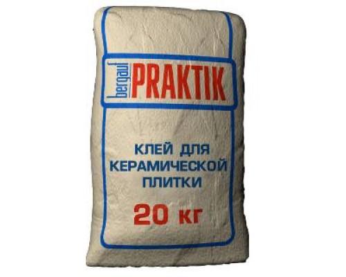 Клей для плитки Bergauf Praktik 30кг (1пал/48шт)