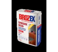 Теплоизоляционный кладочный раствор Брозекс (Brozex) ТЕРМОБЛОК  KSB-18, 20 кг (1 пал/56 шт)