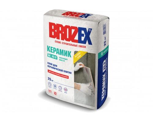 Клей Брозекс (Brozex) КЕРАМИК КS-9 для керамической плитки, 25 кг (1 пал/48 шт)