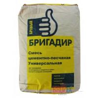 ПЦС БРАВЫЙ БРИГАДИР смесь цементно-песчаная 25кг (1пал/48шт)
