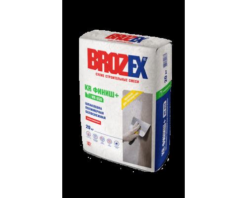 Шпаклевка полимерная Брозекс (Brozex) КR ФИНИШ+ WR-650 белоснежная, 20 кг (1 пал/56 шт)