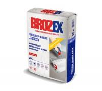 Наливной пол Брозекс (Brozex) НИВЕЛИР ФИНАЛ NF-420 на цементной основе финишный, 2-20мм, 20 кг (1 пал/56 шт)