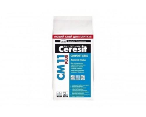 Клей Церезит (Ceresit) СМ 11 для плитки  (5 кг) (1 пал/224 шт)