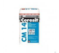 Клей Церезит (Ceresit) СМ 14 Extra для плитки , 5 кг (1 пал/224 шт)