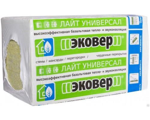 Утеплитель ЭКОВЕР ЛАЙТ Универсал 28 1000х600х50мм 7,2м2 (1уп/12шт) 0,36м3