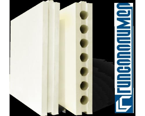 Пазогребневая гипсовая плита ПГП 667*500*80мм полнотелая ГИПСОПОЛИМЕР (1 пал/30 шт)