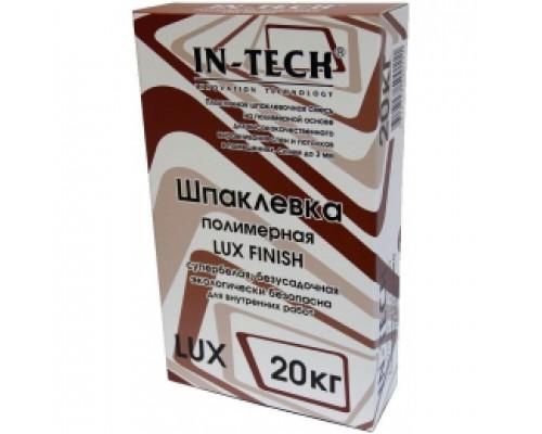 Шпаклевка IN-TECK LUX полимерная белая, 20 кг (1пал/56кг)