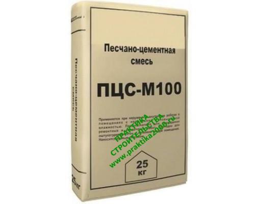 ПЦС IN-TECK М100 песко-цементная смесь, 25 кг (1 пал/48 шт)