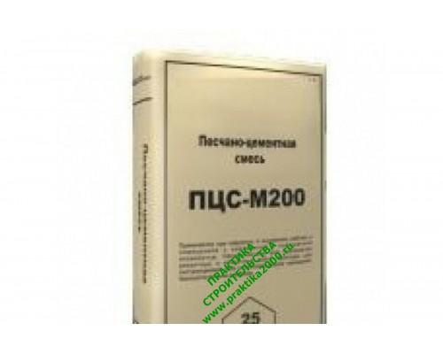 ПЦС IN-TECK Пескобетон М200 песко-цементная смесь, 25 кг (1 пал/48 шт)