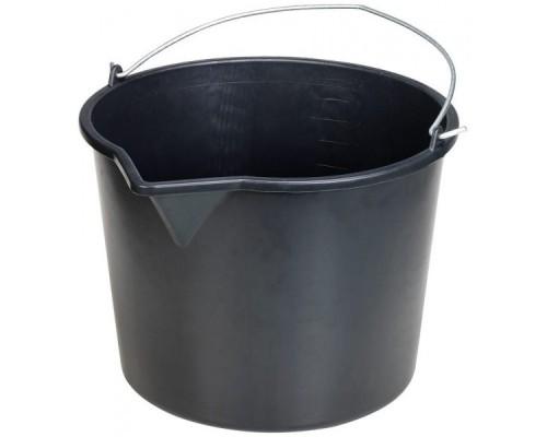 Ведро пластиковое строительное, 20л (с носиком)