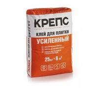 Клей КРЕПС Усиленный для керамической плитки  (25 кг) (1 пал/48 шт)