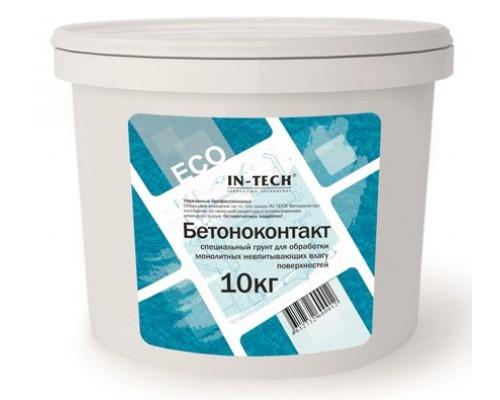 Бетоноконтакт  IN-TECK ЕСО, 10 кг  ( 1 пал /36шт)