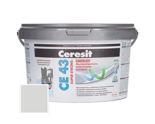 Затирка Церезит (Ceresit) CE 43 (Дымчато-белая)  до 20 мм, 25кг