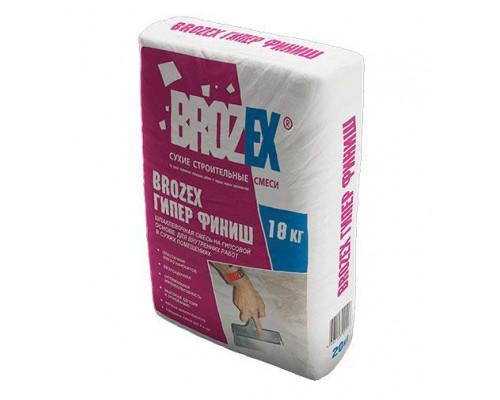 """Шпатлевка """"Brozex"""" Гипер-финиш 17 кг  (1пал/64 шт)"""
