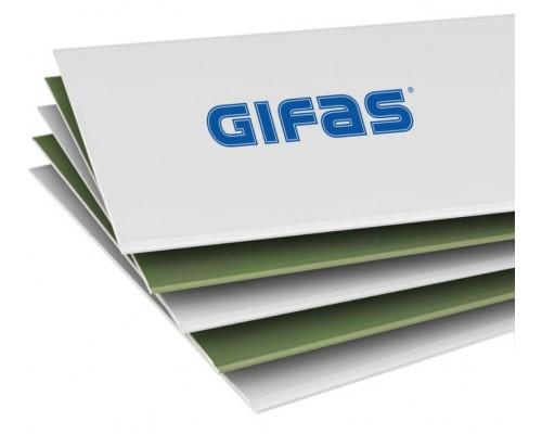 ГИФАС Гипсокартон влагостойкий (ГКЛВ) 1200*2500*9,5мм (1 пал/65 шт)