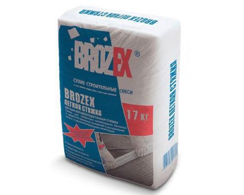 Брозекс (BROZEX) Ровнитель-стяжка керамзитобетонная лёгкая  (17кг) (1 пал/56 шт)