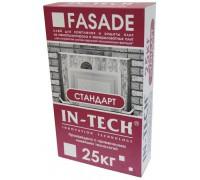 Клей IN-TECK FASADE для теплоизоляции стандарт (25кг) (1 пал48 шт)