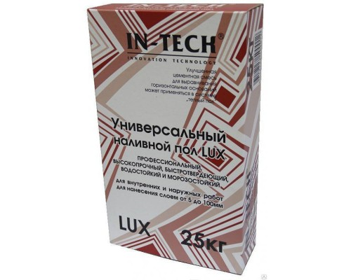 Пол IN-TECK LUX универсальный, 25 кг (1пал/48шт)
