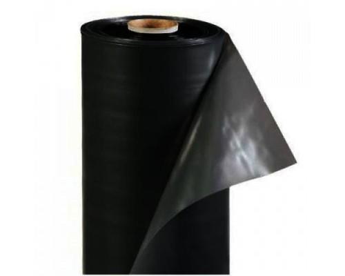 Плёнка п\э, рукав, (1500*2) 200мкм Чёрная (п.м.)