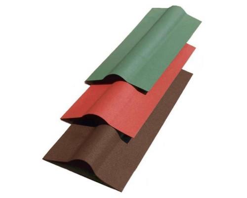Коньковый элемент (0,36х1,00) зеленый Ондулин