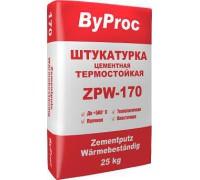 Штукатурка БиПрок (ByProc) TFS - 170 цементная огнестойкая , 25 кг (1 пал/48 шт)