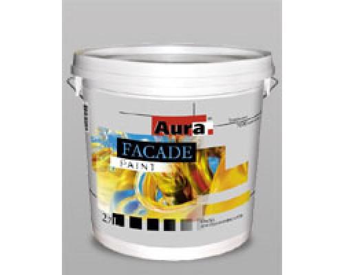 Краска для фасадов Аура Фасад акриловая матовая износостойкая (9 л)