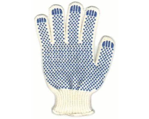 Перчатки  5-ти ниточные с ПВХ