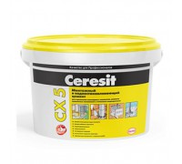 Цемент Церезит (Ceresit) CX 5 монтажный и водоостанавливающий, 2 кг (1 кор/12 шт)