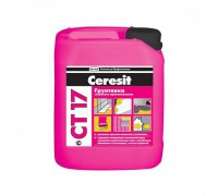 Грунтовка Церезит (Ceresit)  СТ17,  5л (1 пал/120 шт)