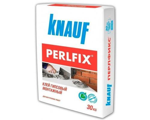 Клей КНАУФ Перлфикс монтажный гипсовый , 30 кг (1 пал/40 шт)