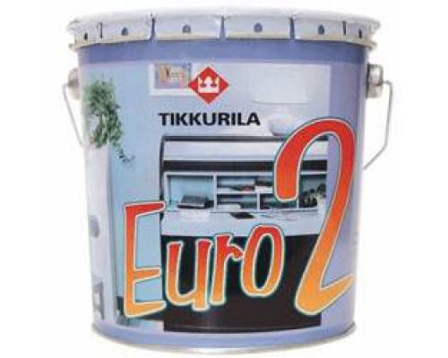 Краска Тиккурила ЕВРО 2 латексная матовая (9 л)