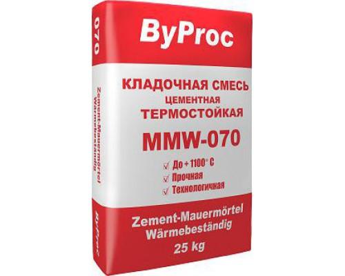 Кладочная смесь БиПрок (ByProc) TPF - 070 огнестойкая (25 кг) (1 пал/48 шт)