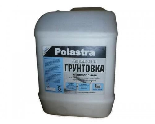 Грунтовка Поластра глубокого проникновения акриловая, 5 литров