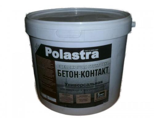 Грунтовка Поластра бетон-контакт, 6 кг