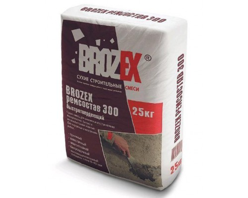 Ремсостав Брозекс (BROZEX) М-300 (25 кг) (1 пал/48 шт)