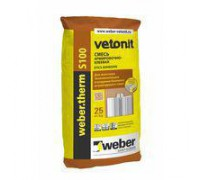 Вебер терм S100 клеевая смесь (25 кг) (1пал/48 шт)