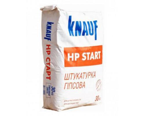 Штукатурка КНАУФ ХП Старт (Knauf HP-Start) гипсовая, 25 кг (1 пал/50 шт)