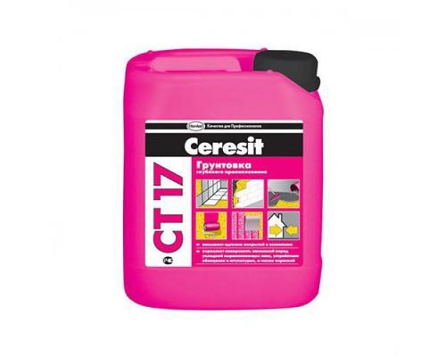 Грунтовка Церезит (Ceresit)  СТ17 МОРОЗ ,5л (1пал/120 шт)