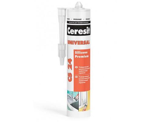 Герметик универсальный белый CS 24 Церезит(Ceresit), 280 мл (1 уп/12 шт)