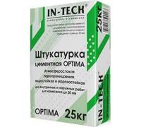 Штукатурка IN-TECK OPTIMA цементная, 25 кг (1пал/48шт)