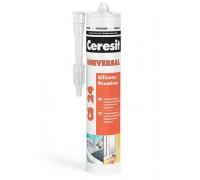 Герметик универсальный прозрачный CS 24 Церезит(Ceresit), 280 мл (1 уп/12 шт)