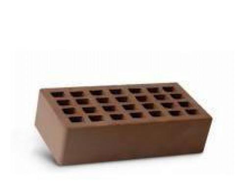 Кирпич лицевой утолщенный пустотелый Шоколад М-150 Ревда (190 шт)