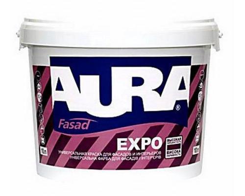 Краска для фасадов Аура Expo акриловая матовая (2,7л)