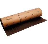 Шкурка на тканевой основе Р80, 1000мм*20м водостойкая/ MATRIX
