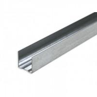 Профиль потолочный направляющий для гипсокартона ППН 28*27*3000*0,4мм Эконом оцинкованный