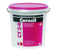 Ceresit СТ 54 Краска силикатная д/наружных работ (база) 15 кг