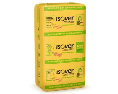 Утеплитель Изовер плита Классик  1170х610х100мм (1уп/5м2/0.5м3/7шт)
