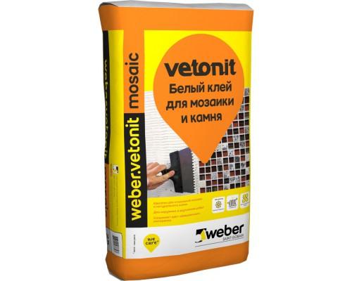 Клей Вебер ветонит мозаик, 25 кг (1 пал/48 шт)
